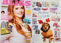 Bliss magazine. Perfect pets gift guide – December 2012