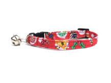jolly christmas cat collar